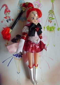 Sailor moon ooak doll sailor style barbie style love