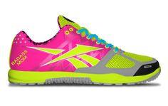 Custom Reebok CrossFit Sneakers...Badass Mom :-)