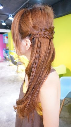 Braids Down Style RULeR Hair Dressing makoto ishii