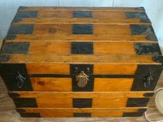 Antique trunk history from early man until the Victorian era. Antique trunk restoration information is also available on our website. Saratoga Trunk, Horse Drawn Wagon, Trunks And Chests, Wooden Slats, Hope Chest, Victorian Era, Civilization, Inventions, Decorative Boxes