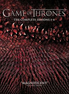 #Brand new dvd boxset of game of thrones #complete seasons 1-4 #region 2,  View more on the LINK: 	http://www.zeppy.io/product/gb/2/262227775397/