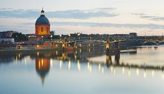 Ochre rooftops and blushing brick churches earned Toulouse the nickname 'La Ville Rose' (the pink city). Its enchanting Vieux Quartier (Old. Spain Travel, France Travel, Kyoto, Saint Sernin, Canal Du Midi, Ville Rose, Chula, Future Travel, Beautiful Places To Visit