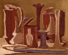 Giorgio Morandi - Natura morta (Still Life, 1936)
