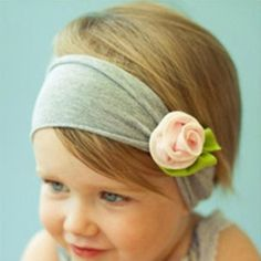 Baby Head Wrap Headband  - 1