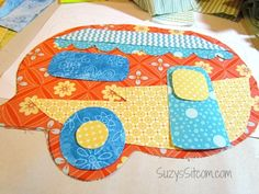 Free camper pot holders pattern! #sewing