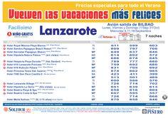 3ªEdición Las vacaciones mas felices. Hoteles en Lanzarote salidas desde Bilbao - http://zocotours.com/3aedicion-las-vacaciones-mas-felices-hoteles-en-lanzarote-salidas-desde-bilbao-2/