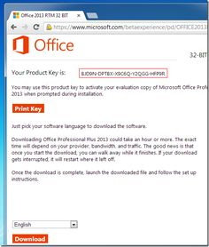 How To Get Microsoft Office 2013 Product Key