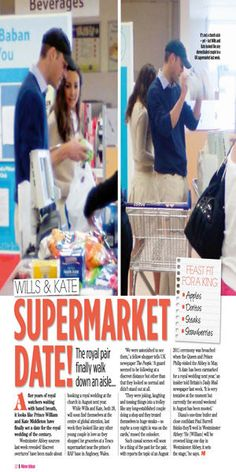 ♕ Her Royal Highness, its-william-catherine-mania: Shopping at Tesco...