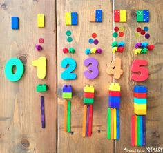 multiple ways to show a number for building number sense to 20