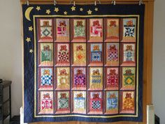 Most outstanding minature quilt I've EVER, EVER seen!  Made by granny-59 and shown on the Quilting Board.  She has 23 other ones pictured too.  AMAZING.