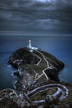 South Stack #Lighthouse - Anglesey, #Wales http://dennisharper.lnf.com/