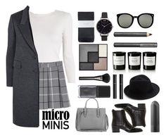 """Micro Mini #2"" by julia463 ❤ liked on Polyvore featuring A.L.C., Monki, Jaeger, Hobbs, Balenciaga, Yves Saint Laurent, Eugenia Kim, Karen Walker, Olivia Burton and Burberry"