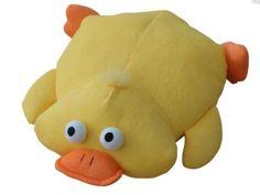 Bath Head Pillow Kids Soft Toy Plush Yellow Duck Design Plane Car Cushion Gift  #Unbranded