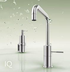 Bei Jado-IQ harmonieren Formvollendung und Funktionalität. Die Reduktion auf das Wesentliche gepaart mit technischer Innovation liefert eine schöne und intelligente Antwort auf den Wunsch nach gestalterischem Purismus.