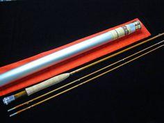 xvpavx R.K.ボルト - 8ft. #4 2pc2tips-Bamboo Fly Rod   商品詳細 故ゲーリー・ハウエルズ氏の機材とテーパーを受け継ぎ、かつて日本でも話題になったR.K.ボルト氏の中空ロング・ロッド。 群を抜いた軽量感ですので、手に取ると多分驚かれると思います。 日本の真竹ロッドほどではありませんがふわふわした感触を持ち、ティップはなかなか繊細です。 それでもティップが妙なお辞儀をすることもなく、その気になればそこそこタイトなループを作ることもできます。 ちなみに3番も試してみましたが問題なく乗りました。