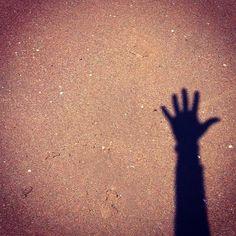 Shadow #beach #shadow #sand - @din0u- #webstagram