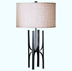 Table lamp is a small lamp designed to stand on a table. Adding elegance to your home decor could easily be achieved with the smallest thing such as adding a table lamp. Teal Table Lamps, Unusual Table Lamps, Night Table Lamps, Table Lamp Base, White Table Lamp, Bedside Table Lamps, Lamp Bases, Gold Table, Small Black Table