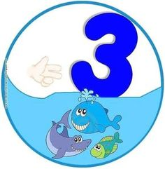 SGBlogosfera. María José Argüeso: CONTAMOS PECES Funny Numbers, Math Numbers, Alphabet And Numbers, Preschool Classroom, Preschool Crafts, Kindergarten, Toddler Learning Activities, Activities For Kids, Animated Numbers