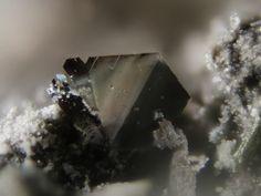 Rheniite, ReS2, Kudriavy volcano, Iturup, Kurilen, Sakhalin Oblast, Russia. Fov 0.5 mm. Collection/Copyright: Josef 84.55