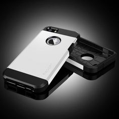 iPhone 5-5S Kılıf-Spigen Slim Armor-BEYAZ Logosu Açık 26,70 TL eMc Teknoloji'den