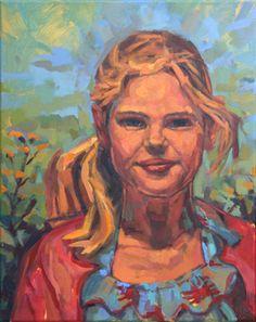 Anneke van der Lende paints portraits, seascapes, landscapes and cityscapes in commission.