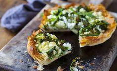 Ricetta salva spesa: Torta salata alle tre verdure e feta