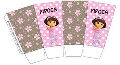 Kit Festa Dora Bailarina Para Imprimir Grátis Paper Cake, Dora The Explorer, Doraemon, Silhouette Projects, Party Printables, Playing Cards, Templates, Birthday, Baby