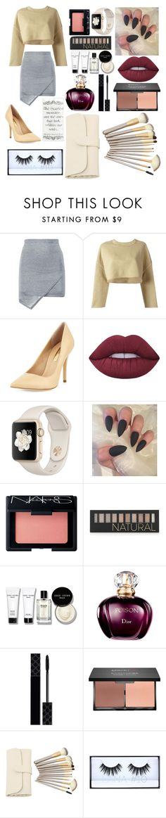 """""""Untitled #18"""" by denisegul ❤ liked on Polyvore featuring Boohoo, adidas Originals, BCBGeneration, Lime Crime, NARS Cosmetics, Forever 21, Bobbi Brown Cosmetics, Gucci, blacklUp and Huda Beauty"""