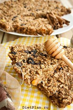 Датский овсяный пирог с изюмом - пошаговый рецепт с фото | Диетические низкокалорийные рецепты - блюда правильного питания на Dietplan.ru