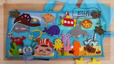 Мастерская Elifçe: Развивающая книжка №15 Морская.../Quiet book №15 Sea