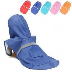 M Size Waterproof Dog Raincoat Small Pet Clothes Hoodie Jacket Outdoor with Refl… M Size Waterproof Dog Raincoat Small Pet Clothes Hoodie Jacket Outdoor with Reflective Strips for Small Dogs, Size: Medium, Red Blue Raincoat, Dog Raincoat, Raincoat Jacket, Hoodie Jacket, Rain Jacket, Transparent Raincoat, Puppy Clothes, Raincoats For Women, Outdoor Outfit