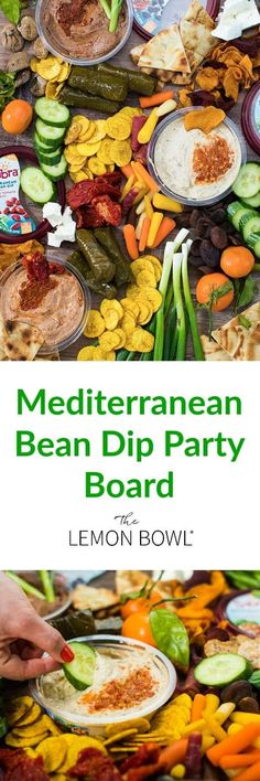 Tips for creating the ultimate Mediterranean bean dip party board using Sabra's brand new line of bean dips! Ideal for entertaining! #holidays #appetizer #healthysnacks Easy To Make Appetizers, Appetizers For Party, Appetizer Recipes, Appetizer Ideas, Best Vegetarian Recipes, Good Healthy Recipes, Easy Recipes, Sweets Recipes, Healthy Foods