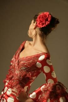 Flamenco dresses!