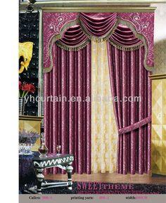 Patron drapeado con chorreras sonia franco cortinas for Cenefas para cortinas