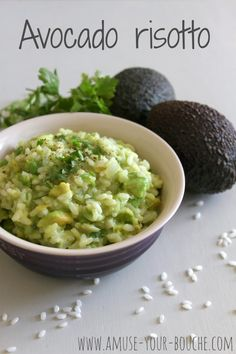 #Avocado #risotto via @Becca @ Amuse Your Bouche #recipe