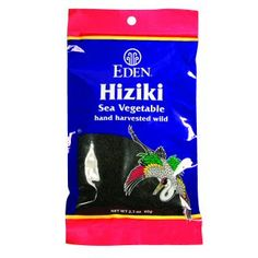Eden Recipes Hiziki & Dried Cherry Salad with Miso Dressing Sea Vegetables, Sauteed Vegetables, Growing Vegetables, Japanese Names, Japanese Food, Vegetable Salad, Vegetable Side Dishes, Eden Foods, Tofu Burger