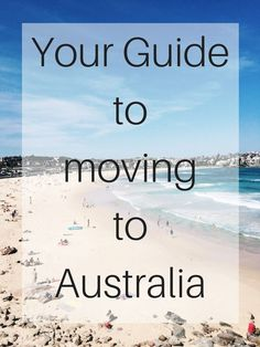 How to Move to Australia in 2 Months or Less - Beautiful Detour - Pin To Travel Work In Australia, Moving To Australia, Visit Australia, Australia Living, Sydney Australia, Australia Travel, Australia Destinations, Australia Visa, Working Holiday Visa