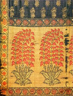 Indian textile, detail                                                                                                                                                                                 More