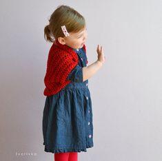 Quick easy shrug bolero wrap crochet pattern any size child teen adult girl woman