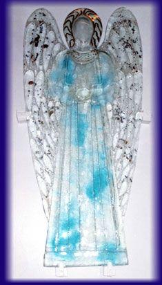 ANGELO IN VETRO FUSO - Delia Zucchi