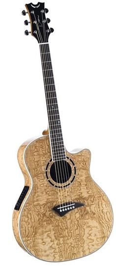 Dean Exotica Quilt Ash Acoustic-Electric Guitar. Dean makes beautiful guitars at prices that won't bankrupt a starving musician.