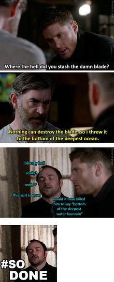 Crowley is so done.