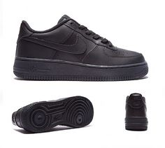 1d05a7b513a7 Nike Air Force 1 Low Trainer in Black. Named after the iconic the USA  President s personal Jet