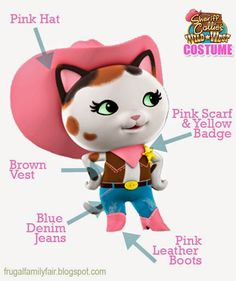 Sheriff Callie Wild West Costume
