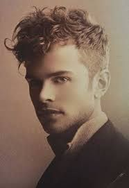 Image result for good men's haircuts for thick curly hair