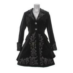 Spin Doctor Mantel VICTORIAN COAT black velvet Spin Doctor, http://www.amazon.de/dp/B0063FJX7C/ref=cm_sw_r_pi_dp_RvD0rb0XB947S