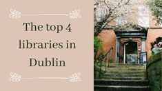 Here you have the best 4 libraries to visit in Dublin: the famous Trinity College Library, the welcoming Marsh's Library, the cosmopolitan Chester Beatty Library, and the elegant National Library of Ireland. College Library, Chester, Book Worms, Ireland, Libraries, Blog, Library Room, Blogging, Irish