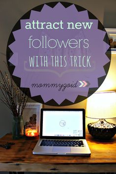 """Attract new followers to your blog with this trick - HTML """"Grab My Button"""" for your blog via www.mommyzoid.ca"""