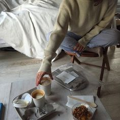 Image about girl in aes by ¨̮ on We Heart It Brown Aesthetic, Aesthetic Food, Coffee Break, Coffee Time, Cute Outfits With Jeans, Chill Pill, Humble Abode, Hygge, Relax