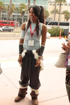 Korra! I think this was at Comic Con last year!